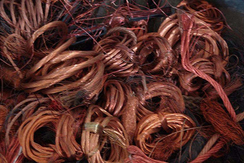 宜昌有色金属回收-铜线