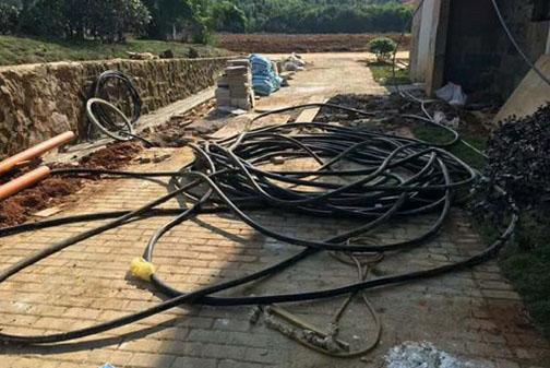 报废电线电缆回收