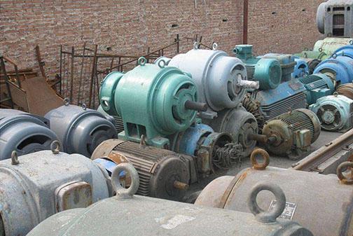 宜昌废旧设备回收-电机